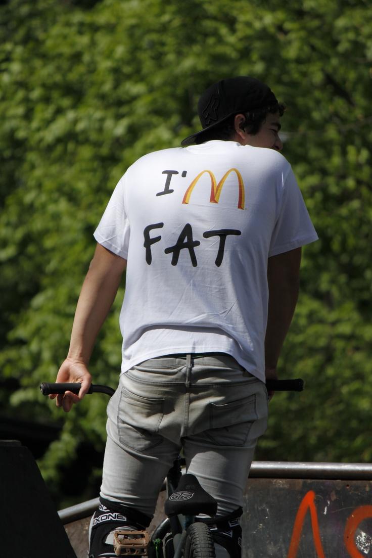 I'M fat and I'M loving it!