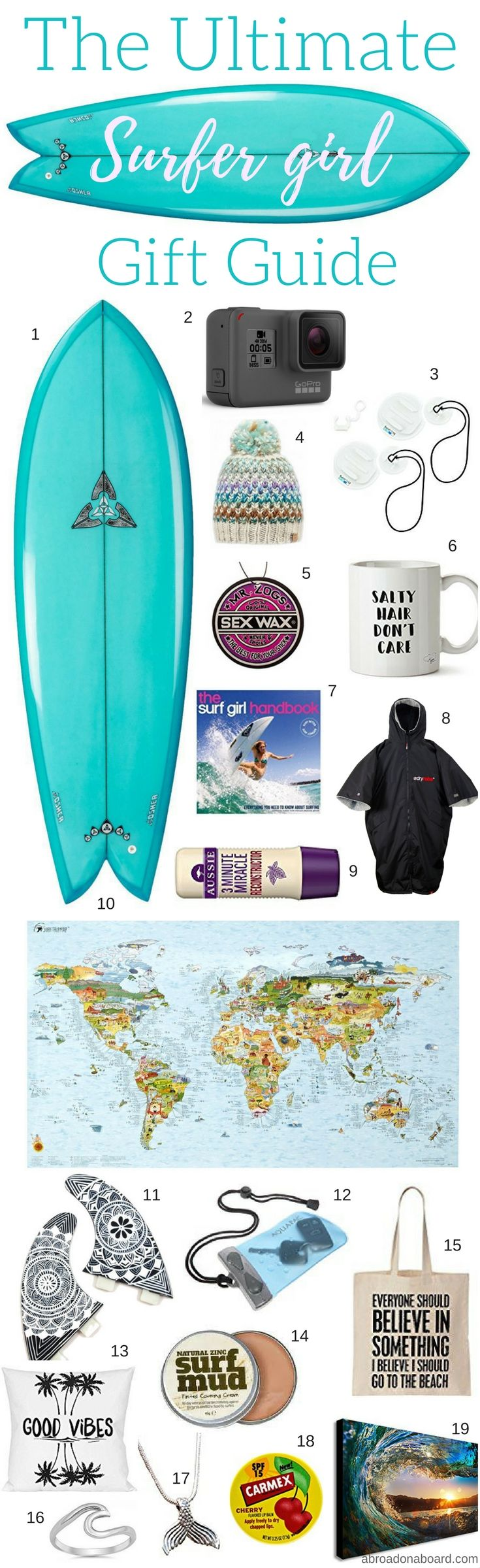 With Christmas just around the corner, don't panic if you have no idea what to buy your favourite surfer girl. Choose something from this list of thoughtful, surf inspired gems and you will have a gift to make the eyes of any mermaid sparkle. From stocking fillers to outright splurges, whatever your budget, this guide has you covered.