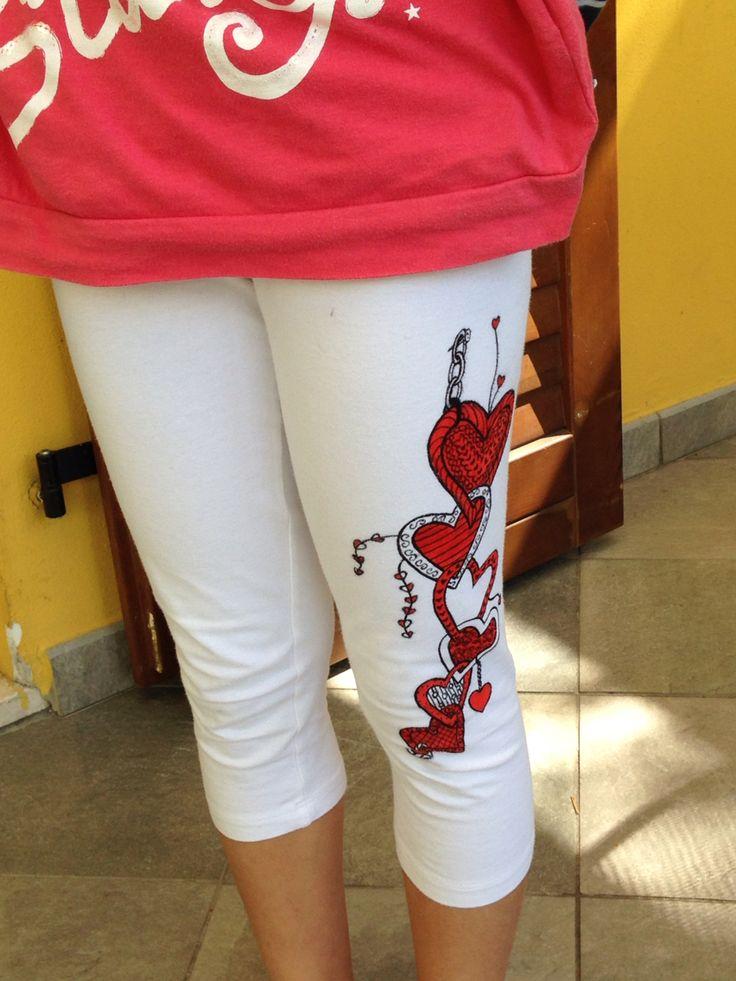 Diy printing leggings - Leggings decorati