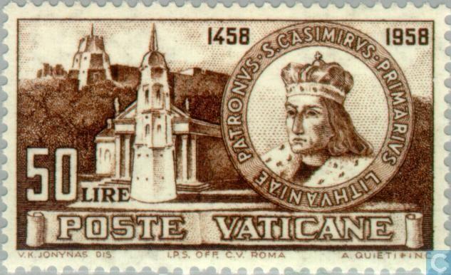 Catholic postage stamps