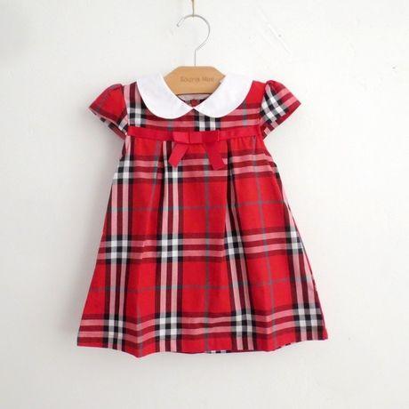 Девушки летом 2014 иностранных стиль торговли B семьи детей хлопка плед платье принцессы юбки младенца платья - Taobao