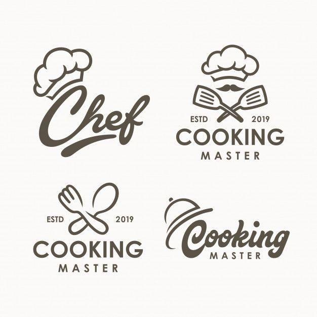 Chef Cooking Logo Template Cooking Logo Food Logo Design Logo Restaurant