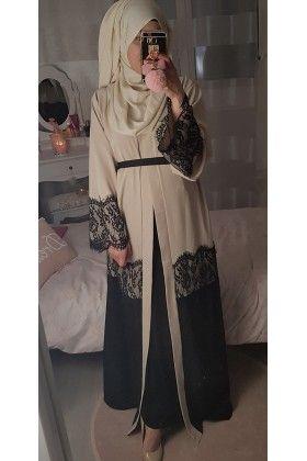 Abaya kimono LACE
