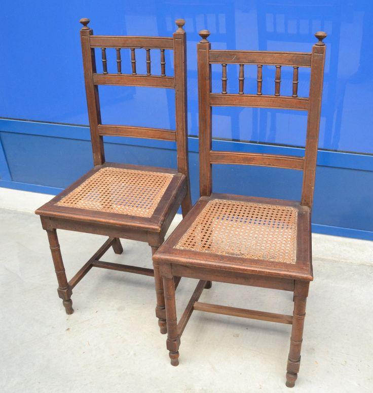 Coppia di sedie neorinascimentali '800 Henri II