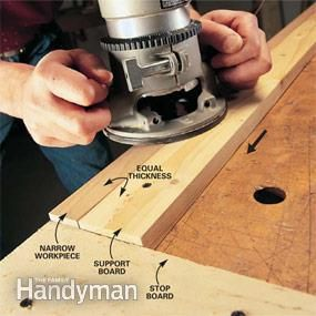 The router does more than cut fancy edges. It'll also cut flawless dadoes and rabbets and perfect patterns. Our basics here show you how to set up and execute these cuts with outstanding results.