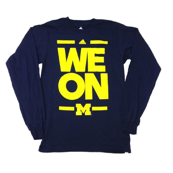 "Adidas University of Michigan Basketball ""WE ON"""