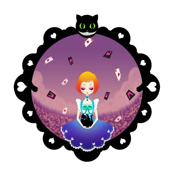 - Wonderland - by Paz HuichamaN, via Behance