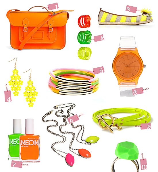 Top 10 Picks: Must-Have Neon Accessories http://thegiftingexperts.com/category/top-ten-picks/