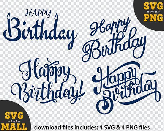 Inspiration Your Birthday Cake Design Happy Birthday Cake Topper Svg