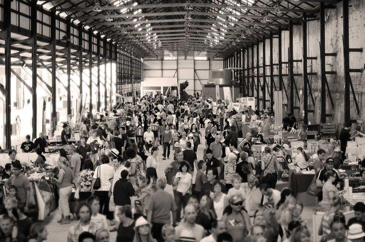 Eveleigh Farmers 'Market (Er braucht Nahrung)