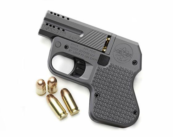 DoubleTap Pistol. The worlds smallest, and possibly most powerful, concealed carry firearm. by Heizer Defense