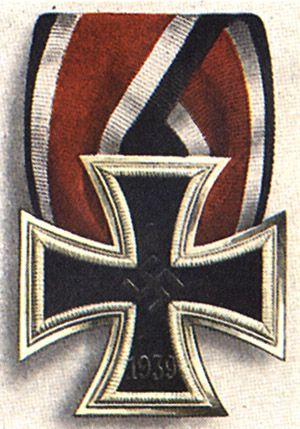 The German Iron Cross IInd Class instituted in 1939.
