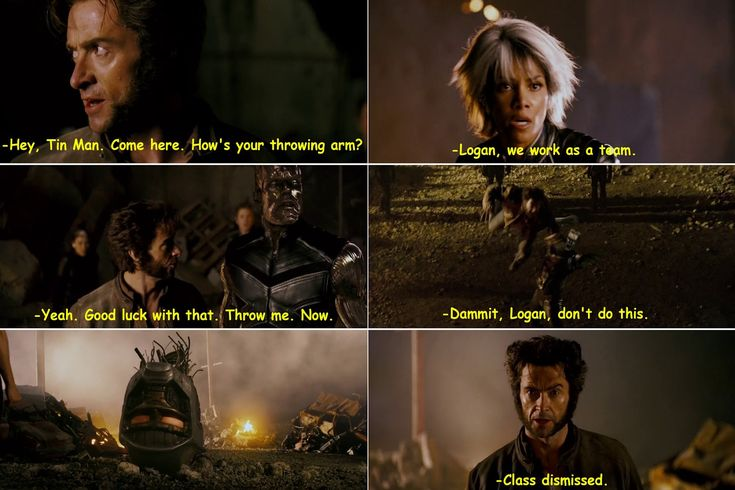 Quotes from X-Men Last Stand (2006) Movie. Still mad that these two didn't become a couple in the movies >:(