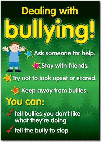 Bullying in a Cyber World Poster: Ages 4-7 - R.I.C. Publications