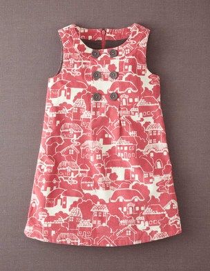 I've spotted this @BodenClothing Button Pinafore Dress Rose Vale Gingerbread House