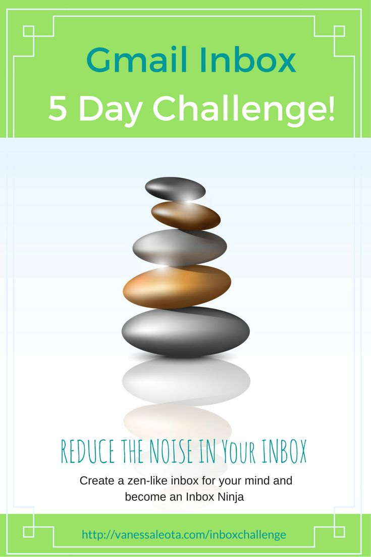 Is your inbox filled with unread messages? Manage your inbox with ease by taking this 5 Day Challenge to get you into a zen-like inbox.
