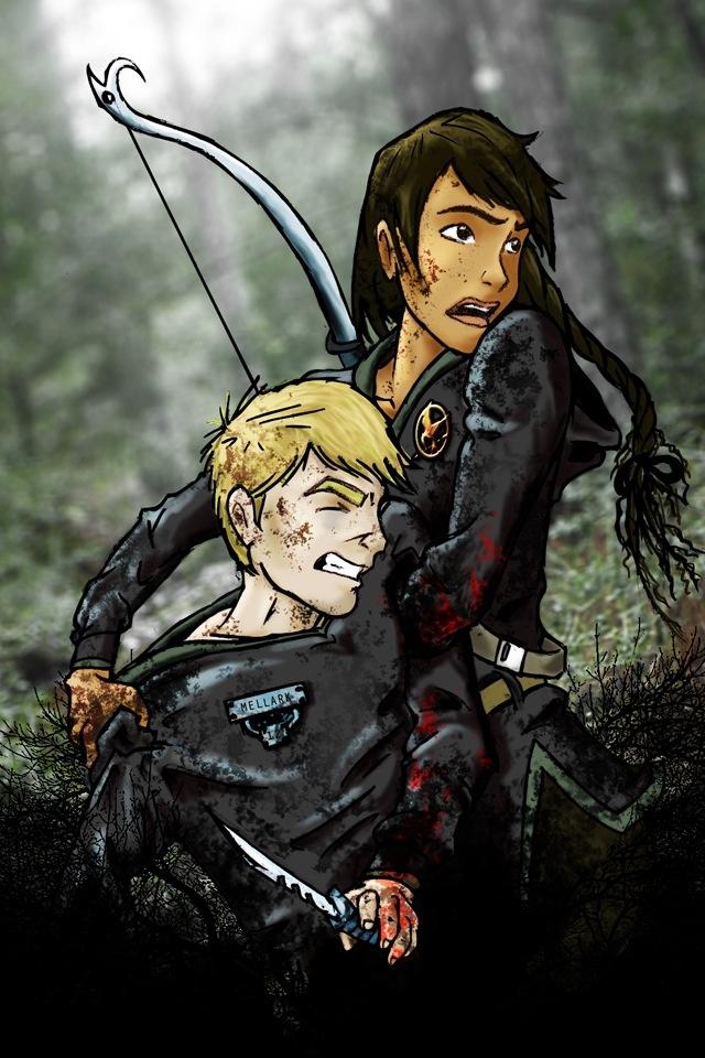Hunger Games Fan Art Katniss And Peeta 79 best Peeta + Katnis...