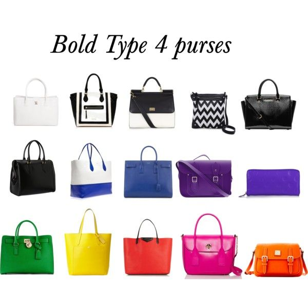 Bold Type 4 Purses, created by bonnydianne on Polyvore