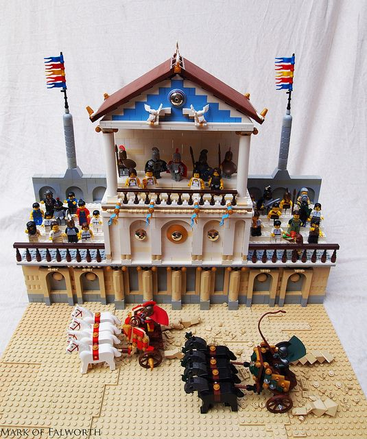 Ancient Olympic Chariot Racing by Mark of Falworth, via Flickr