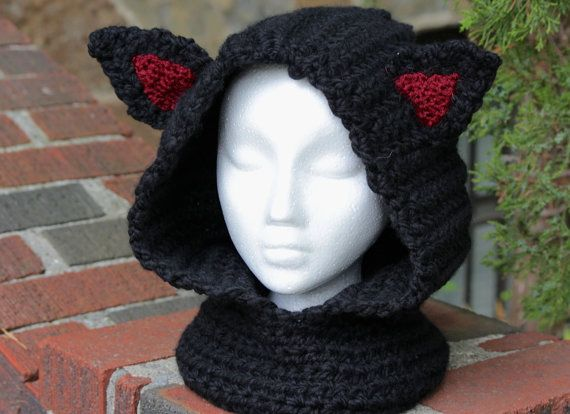 Welcome to Stitch Noir!  Custom Made Cowl Super bulky weight blended yarn: acrylic/wool ADULT size  These cowls are so fun to make and have such