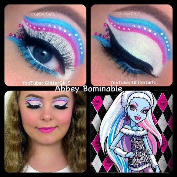 The 25 best monster high makeup ideas on pinterest doll - Monster high youtube ...