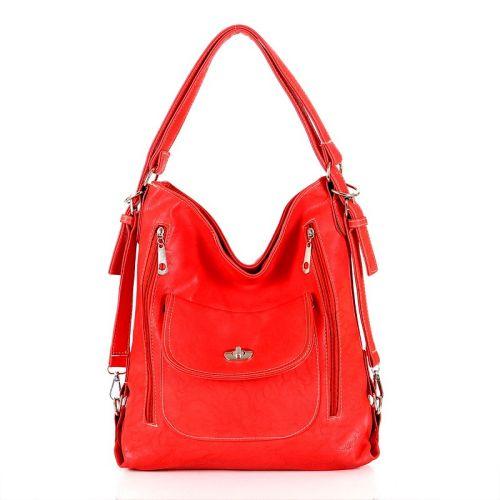 Γυναικεία τσάντα ώμου JC Crystal C-66 Red