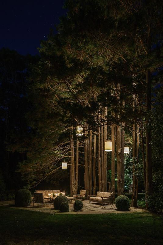 Dreamy Garden Lighting Ideas #PergolaMenards Pergola Menards
