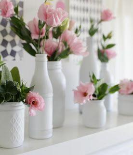 Thaís Libardoni...arquitetando idéias: ArquIdeias: Reutilizando potes de vidro na decoração