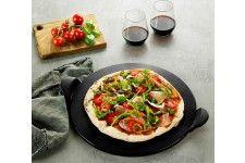 Davis & Waddell Napoli Black Flameproof Pizza Stone 33cm