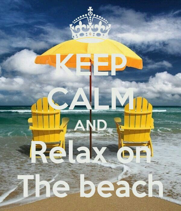 #MJB Summer Lovin 2015 #SummerWords Keep Calm and Relax on the Beach ?Love it's Love? always (beach fun quotes)