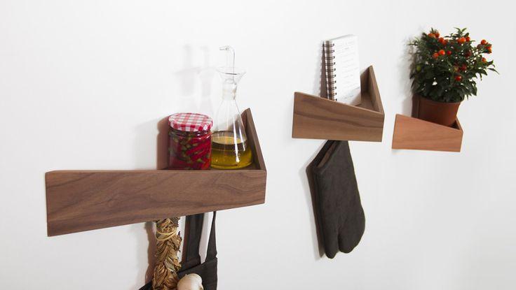 鵜鶘鳥嘴木質壁櫃 | MyDesy 淘靈感