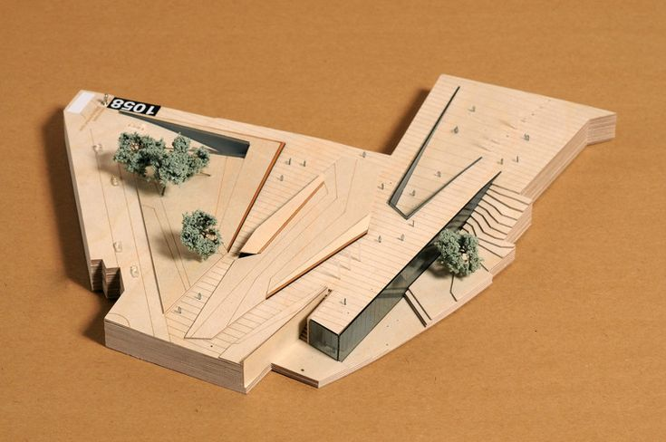 New Bauhaus Museum in Weimar, maquette, architectural model, maqueta, modulo