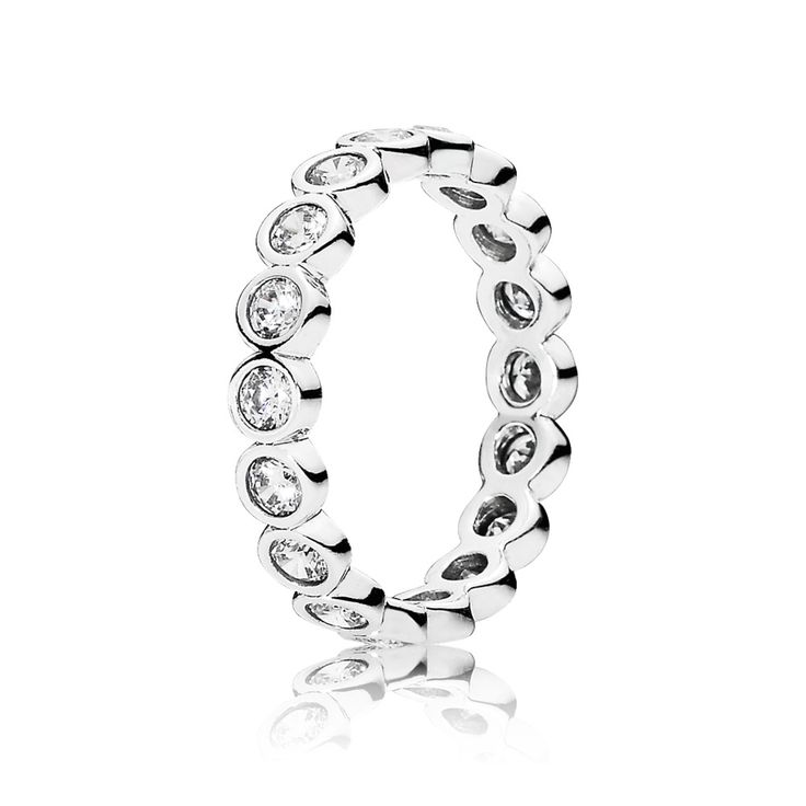 Large round eternity silver ring with cubic zirconia A$65.00 A$45.9829% off5 reward points