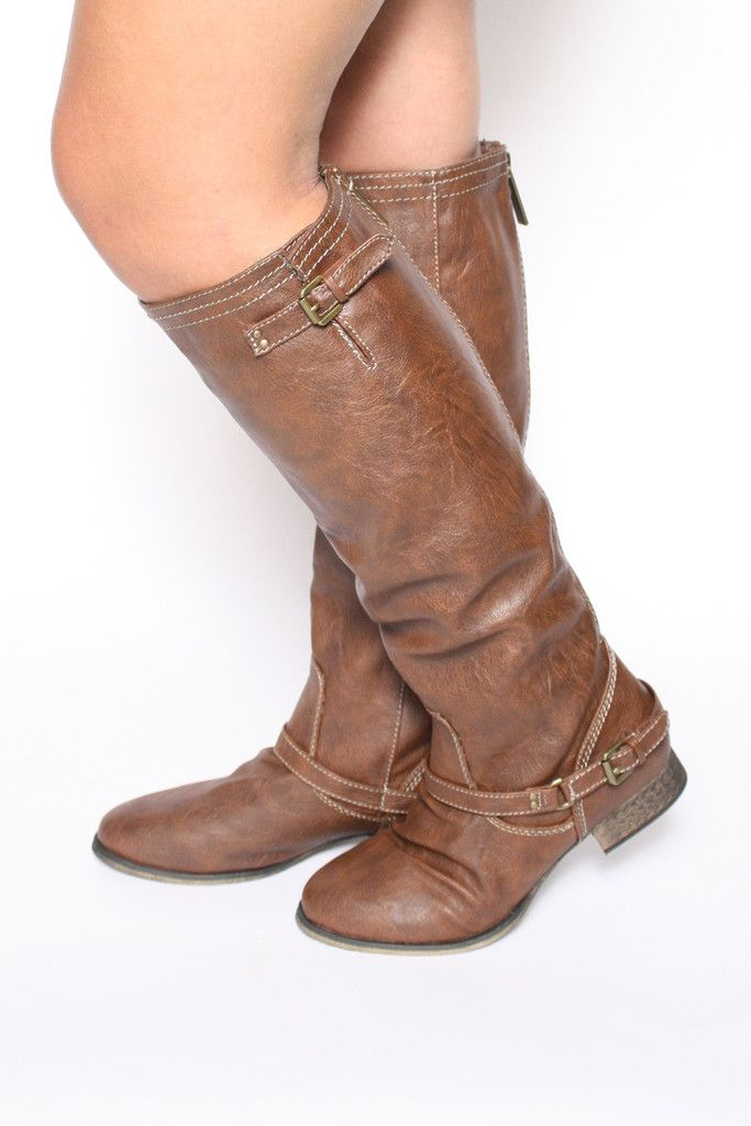 Outlaw Riding Boots: Tan