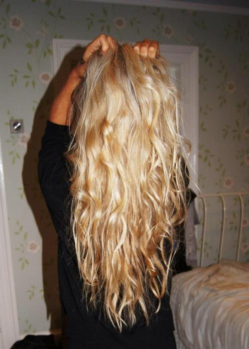 by september, my hair will be this long.