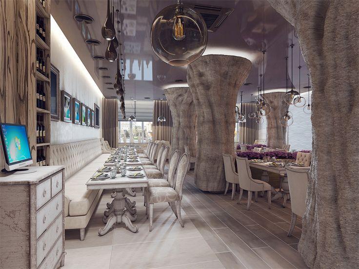 НН_рыбный ресторан_1_Рыбный ресторан Andrea's, г. Нижний Новгород, ГОТОВЫЙ ОБЪЕКТ