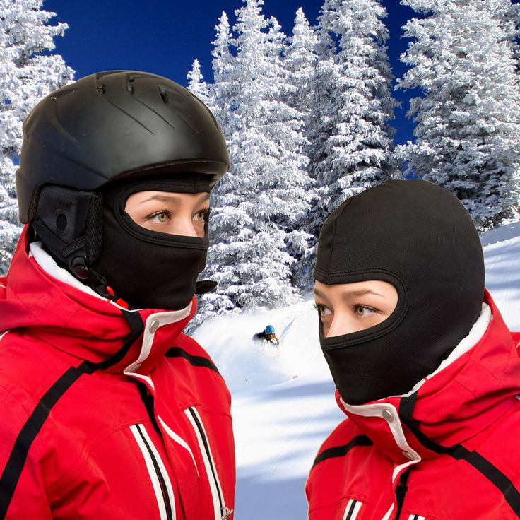 Spending the Holidays on the slopes?  What best to keep you warm than a lightweight balaclava? And when the winter's over, you can use it on your bike trips!