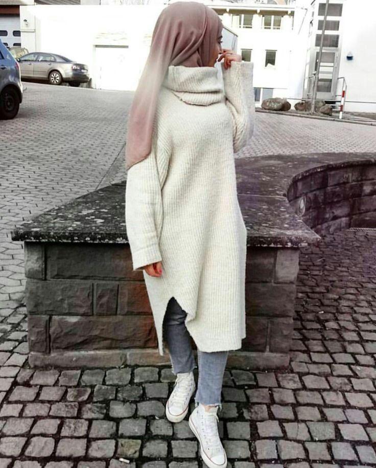 Hijab Fashion Winter Style