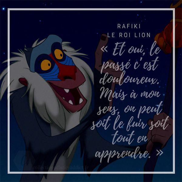 Citation De Rafiki Dans Le Roi Lion