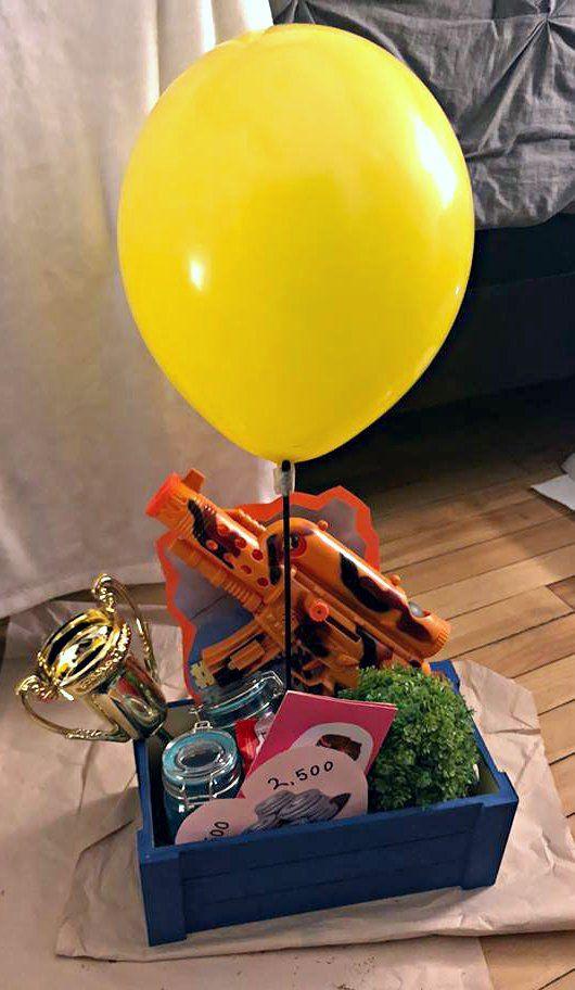 Fortnite Battle Royale Care Package For My Boyfriend Two Slurp