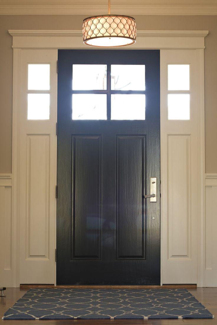 Door Designs; The Graveness of Black..!  |Black Door Ideas