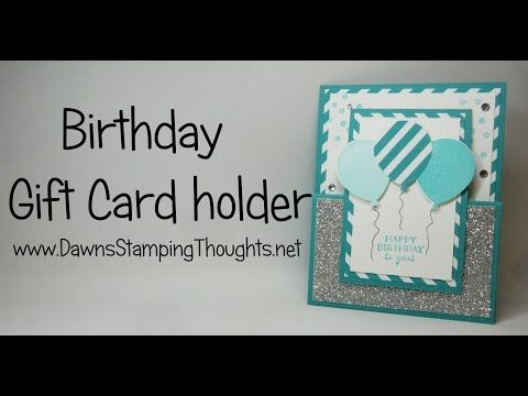 17 Best ideas about Birthday Gift Cards – I Want to Make a Birthday Card