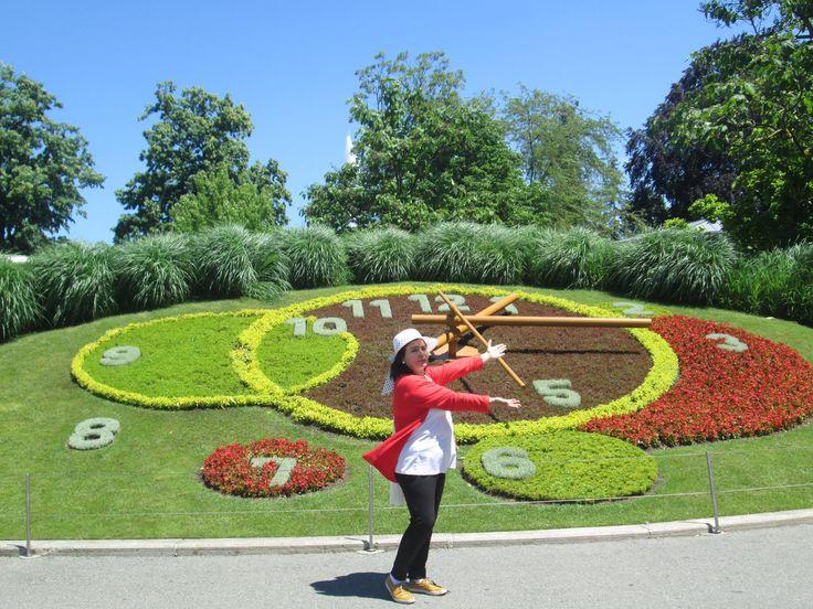 Reloj Floral Ginebra-Fotografía: Ana María Pinto