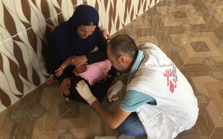 Galería fotográfica desde Irak: Atención médica en las líneas de combate   MSF México/América Central