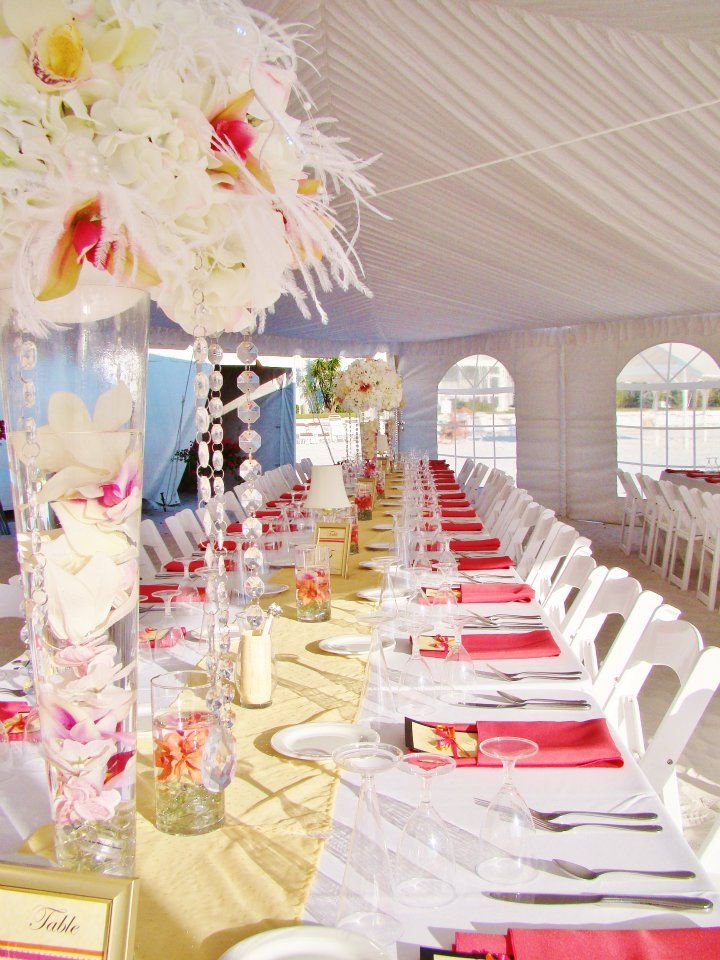 Siesta Key Beach Wedding Packages Featuring Beach Ceremony And Reception  Under A Private Tent, Luau Show, Buffet Dinner, Bar Station And Full Decor  Package.