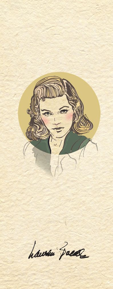 Lauren Bacall the Golden Age of Hollywood on Behance