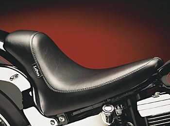 Harley Seat Detail for Softails '84-'12 Standard Tire Models by Lepera: Bullet Solo, Harley Davidson, Applications 1999 Harley, Harley Seat, Boy1999 Harley, Silhouette Bullet, Lepera Seat, Softail1999 Harley