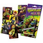 Juego de cartas de las Tortugas Ninja...: http://www.pequenosgigantes.es/pequenosgigantes/4342353/baraja-de-cartas-de-las-tortugas-ninja-.html