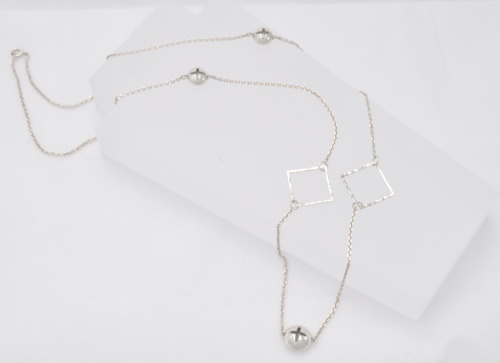 Silver Stars - Sterling Silver Necklace