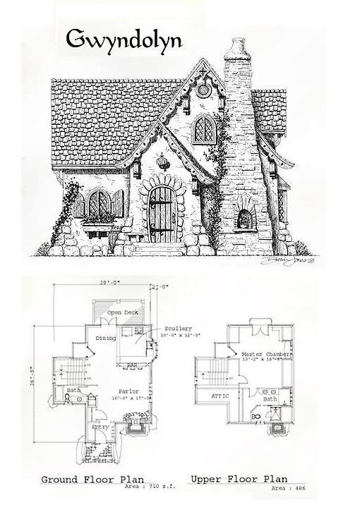 Home Inspiration: Modern Fairy Cottage House Plans Small Plan With Loft Tale from Fairy Cottage House Plans